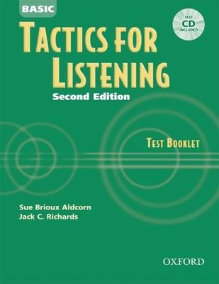 Basic Tactics for Listening Test Booklet - Aldcorn, Sue Brioux