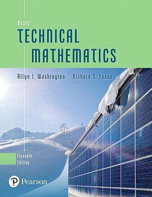 Basic Technical Mathematics - Washington, Allyn J