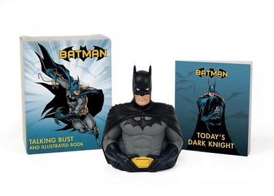 Batman: Talking Bust and Illustrated Book - Manning, Matthew