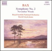 Bax: Symphony No. 2; November Woods - Royal Scottish National Orchestra; David Lloyd-Jones (conductor)