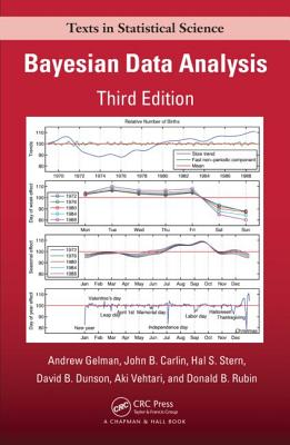 Bayesian Data Analysis - Gelman, Andrew, and Carlin, John B, and Stern, Hal S