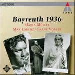 Bayreuth 1936 - Erich Zimmermann (vocals); Franz Völker (vocals); Jaro Prohaska (vocals); Josef von Manowarda (vocals);...