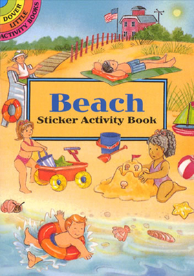 Beach Sticker Activity Book - Beylon, Cathy, and Activity Books, and Sea Life