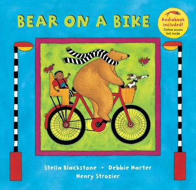 Bear on a Bike - Blackstone, Stella