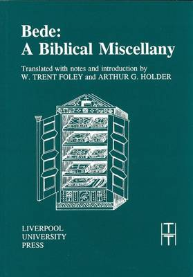 Bede: A Biblical Miscellany - Foley, W Trent (Translated by)