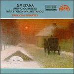 """Bedrich Smetana: String Quartets Nos. 1 """"From my Life"""" & 2"""