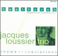 Beethoven: Allegretto from Symphony no. 7, Theme and Variations - Jacques Loussier Trio