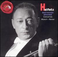 Beethoven, Brahms: Concertos - Jascha Heifetz (violin); Charles Munch (conductor)
