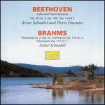 Beethoven: Cello and Piano Sonatas; Brahms: Rhapsody No. 2; Intermezzi