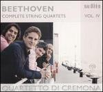 Beethoven: Complete String Quartets, Vol. 4