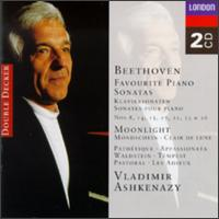 Beethoven: Favourite Piano Sonatas - Vladimir Ashkenazy (piano)