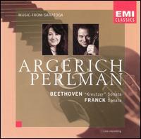 "Beethoven: ""Kreutzer"" Sonata; Franck: Sonata - Itzhak Perlman (violin); Martha Argerich (piano)"