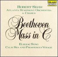 Beethoven: Mass in C; Elegiac Song; Calm Sea and Prosperous Voyage - Henriette Schellenberg (soprano); Jon Humphrey (tenor); Marietta Simpson (mezzo-soprano); Myron Myers (bass);...
