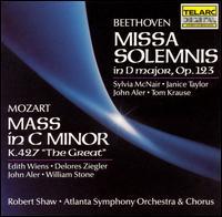 "Beethoven: Missa Solemnis in D major, Op. 123; Mozart: Mass in C minor, K. 427 ""The Great"" - Delores Ziegler (mezzo-soprano); Edith Wiens (soprano); Janice Taylor (mezzo-soprano); John Aler (tenor);..."