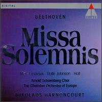 Beethoven: Missa Solemnis - Anthony Rolfe Johnson (tenor); Chamber Orchestra of Europe (chamber ensemble); Eva Mei (soprano); Marjana Lipovsek (vocals);...