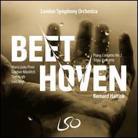 Beethoven: Piano Concerto No. 2; Triple Concerto - Gordan Nikolic (violin); Lars Vogt (piano); Maria João Pires (piano); Tim Hugh (cello); London Symphony Orchestra;...