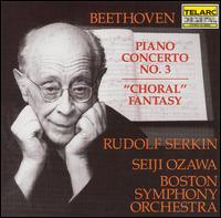 Beethoven: Piano Concerto No.3; Choral Fantasy - David Gordon (baritone); Faye Robinson (soprano); Julien Robbins (bass); Kenneth Riegel (tenor); Lili Chookasian (contralto);...