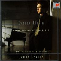 Beethoven: Piano Concertos Nos. 2 & 5 - Evgeny Kissin (piano); James Levine (conductor)