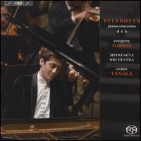 Beethoven: Piano Concertos Nos. 4 & 5 - Yevgeny Sudbin (piano); Minnesota Orchestra; Osmo Vänskä (conductor)