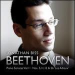 Beethoven: Piano Sonatas, Vol. 1 -  Nos. 5, 11, 12 & 26 'Les Adieux'