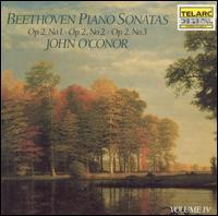Beethoven: Piano Sonatas, Vol. 4 - John O'Conor (piano)