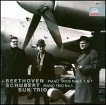 Beethoven: Piano Trios Nos. 3, 5, & 7; Schubert: Piano Trio No. 1