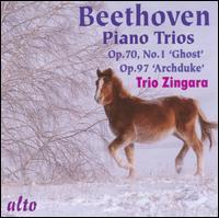 Beethoven: Piano Trios Opp. 70/1 & 97 - Annette Cole (piano); Elizabeth Layton (violin); Felix Schmidt (cello); Trio Zingara