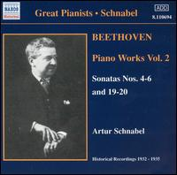 Beethoven: Piano Works, Vol. 2 - Artur Schnabel (piano)