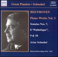 Beethoven: Piano Works, Vol. 3 - Artur Schnabel (piano)