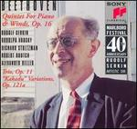 "Beethoven: Quintet for Piano & Winds, Op. 16; Trio Op. 11; ""Kakadu"" Variations, Op. 121a"