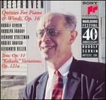 "Beethoven: Quintet for Piano & Winds, Op. 16; Trio Op. 11; ""Kakadu"" Variations, Op. 121a"