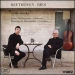 Beethoven, Ries: Cello Works