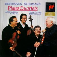 Beethoven, Schumann: Piano Quartets - Emanuel Ax (piano); Isaac Stern (violin); Jaime Laredo (viola); Yo-Yo Ma (cello)