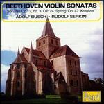 Beethoven: 'Spring'/'Kreutzer' Sonatas etc.