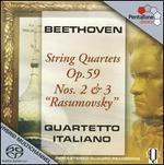 Beethoven: String Quartets Op. 59, Nos. 2 & 3 'Rasumovsky'