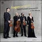 Beethoven: String Quartets Opp. 18/3, 18/5 & 135