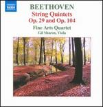 Beethoven: String Quintets, Opp. 29 & 104