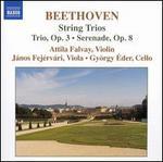 Beethoven: String Trio, Op. 3; Serenade, Op. 8