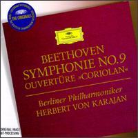 "Beethoven: Symphonie No. 9 [1962]; Ouvertüre ""Coriolan"" - Gundula Janowitz (soprano); Hilde Rössl-Majdan (alto); Hilde Rössl-Majdan (contralto); Waldemar Kmentt (tenor); Walter Berry (vocals); Herbert von Karajan (conductor)"