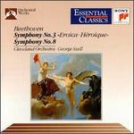 "Beethoven: Symphonies Nos. 3 ""Eroica"" & 8"