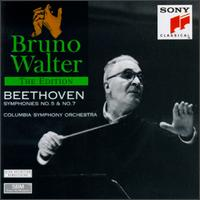Beethoven: Symphonies Nos. 5 & 7 - Columbia Symphony Orchestra; Bruno Walter (conductor)