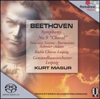 "Beethoven: Symphony No. 9 ""Choral"" - Anna Tomowa-Sintow (soprano); Annelies Burmeister (mezzo-soprano); Peter Schreier (tenor); Theo Adam (bass);..."