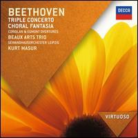 Beethoven: Triple Concerto; Choral Fantasia; Coriolan & Egmont Overtures - Albrecht Sack (tenor); Andrea Pitt (contralto); Beaux Arts Trio; Ekkehard Wagner (tenor); Kerstin Klein (soprano);...