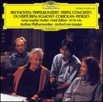 Beethoven: Triple Concerto; Overtures - Anne-Sophie Mutter (violin); Mark Zeltser (piano); Yo-Yo Ma (cello); Berlin Philharmonic Orchestra; Herbert von Karajan (conductor)