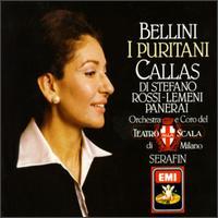 Bellini: I Puritani - Angelo Mercuriali (tenor); Aurora Cattelani (mezzo-soprano); Carlo Forti (bass); Giuseppe di Stefano (tenor);...