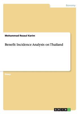 Benefit Incidence Analysis on Thailand - Karim, Mohammad Rezaul