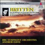 Benjamin Britten: Four Sea Interludes and Passacaglia from Peter Grimes; Variations on a Theme of Frank Bridge