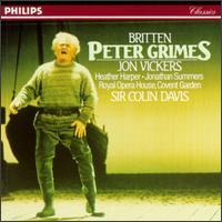 Benjamin Britten: Peter Grimes, Op. 33 - Anne Pashley (soprano); Elizabeth Bainbridge (vocals); Heather Harper (soprano); John Dobson (baritone);...