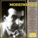 Benno Moiseiwitsch, Vol. 1