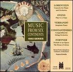 Bent Lorentzen: Concerto for Piano & Orchestra; Douglas Ovens: Play Us a Tune; etc.